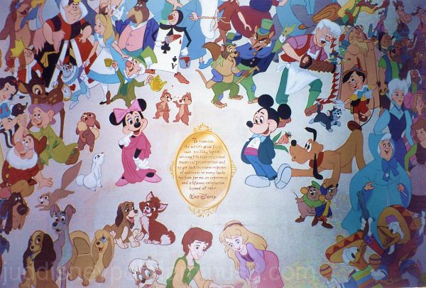 Jud, Magic Kingdom, Mickey Mouse and friends
