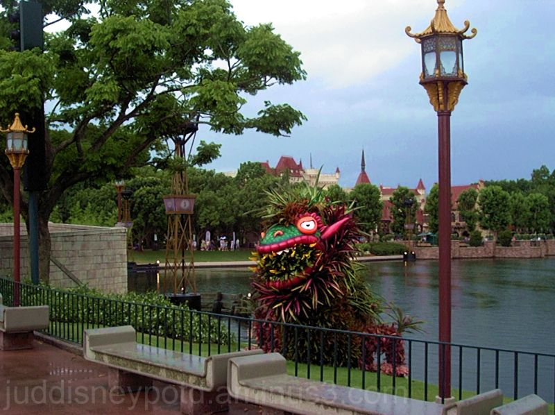Jud, Epcot, Flower and Garden, China, Topiary