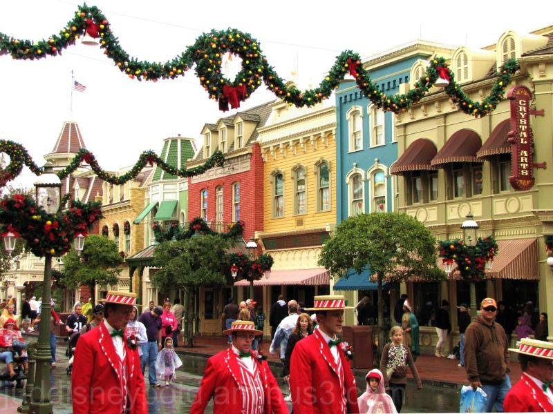 Disney, Jud, Magic Kingdom, Main Street, Christmas