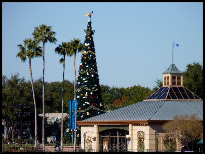 WDW, Disney, Epcot, World Showcase, Christmas Tree