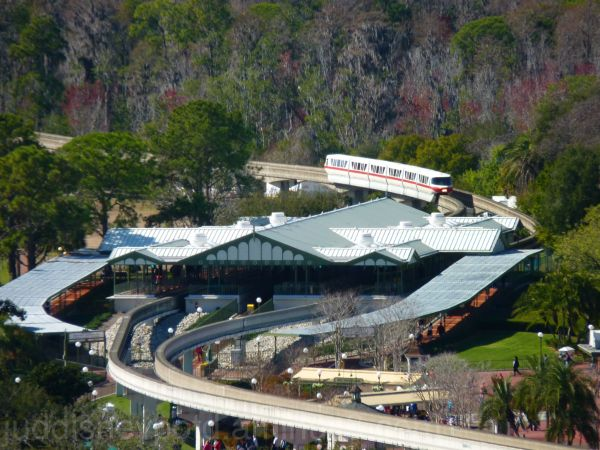 WDW, Disney, Magic Kingdom, Monorail Station, Jud