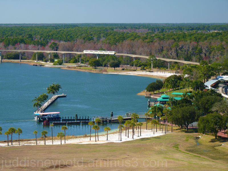 WDW, Magic Kingdom, Boats, monorail, 7 Seas Lagoon