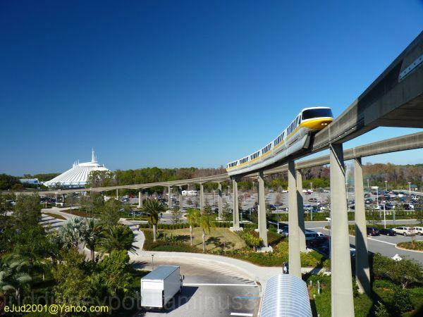 Disney, Jud, Magic Kingdom, Contemporary, Monorail