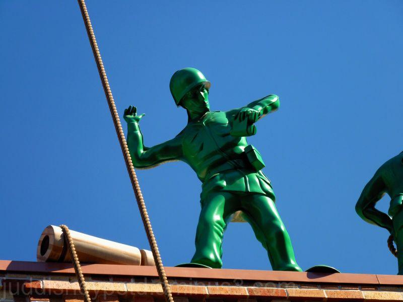 Hollywood Studios, Toy Story Mania, Green Army Man