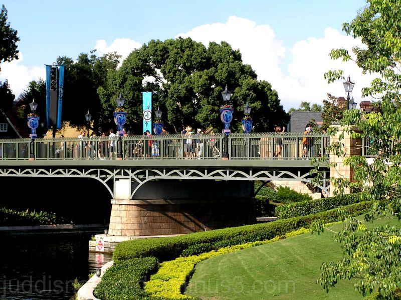 WDW, Disney, Epcot, World Showcase, Channel Bridge