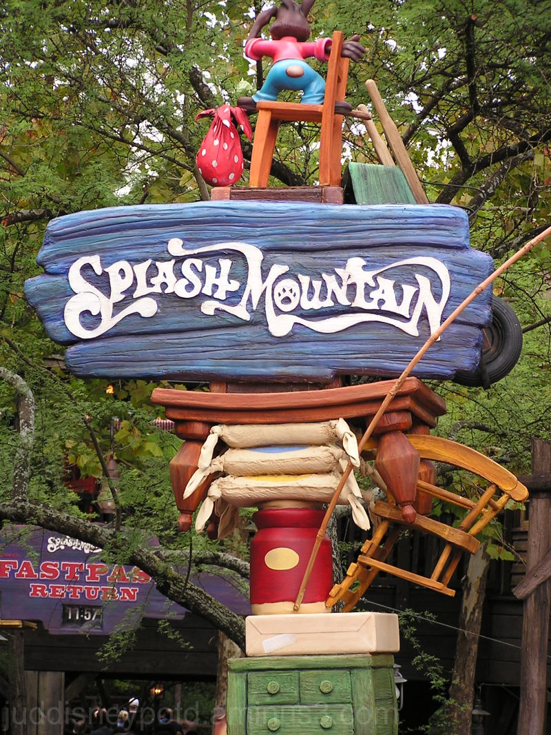 WDW, Disney, Magic Kingdom, Splash Mountain, Sign