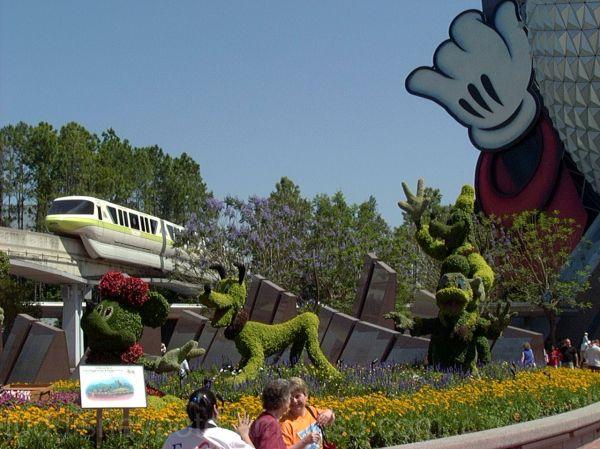 Epcot, Flower & Garden Festival, Front and Center