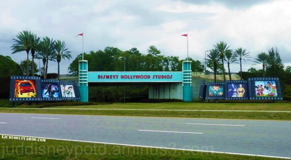 WDW, Disney, Signage, Hollywood Studios, Underpass