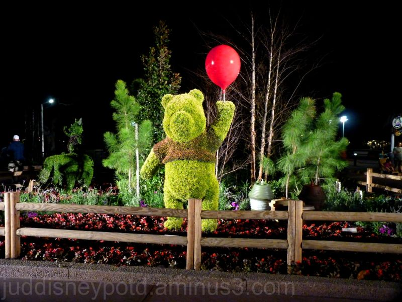Epcot, Flower and Garden Festival, Pooh, Jud