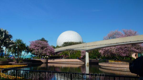 Disney, Epcot, Flower and Garden, Big Ball, Jud