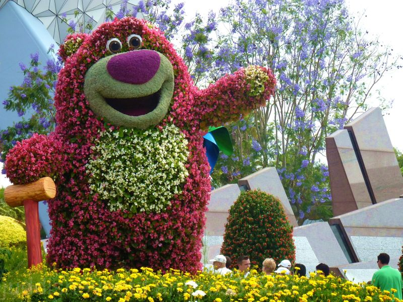 Epcot, World Showcase, Flower & Garden, Lotso, Jud