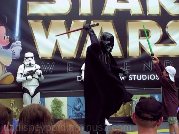 Disney, Studios, Star Wars Weekend, Darth, Jud