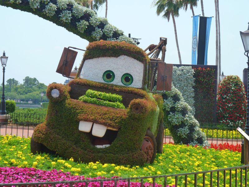 WDW, Disney, Jud, Epcot, Flower and Garden, Topiar