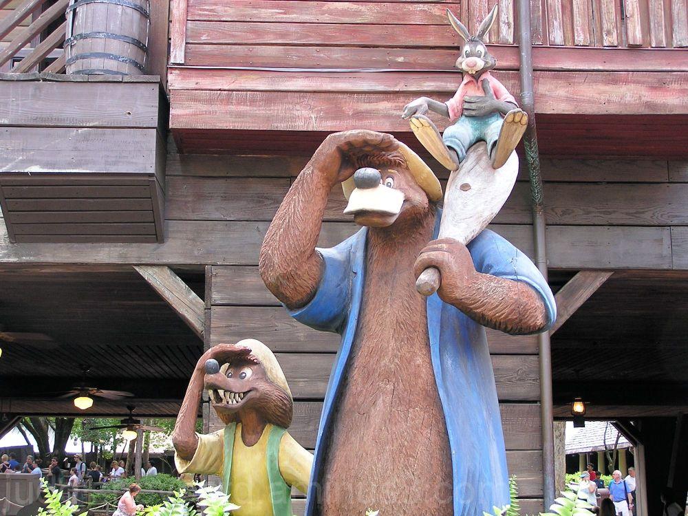 Jud, Disney, Walt Disney World, Splash Mountain