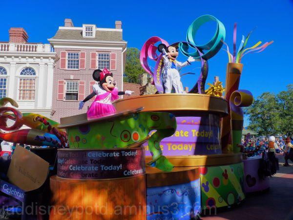 Jud, Disney, Magic Kingdom, Mickey Mouse Parade