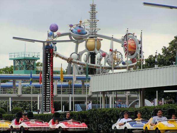 Jud, Disney, Magic Kingdom, Raceway, Astro Orbitor