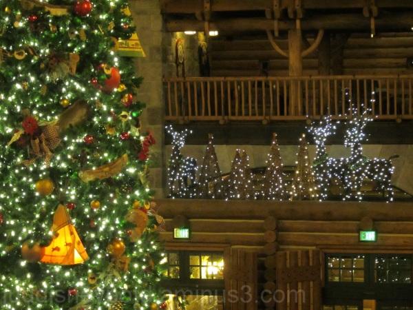 Jud, Disney, Wilderness Lodge, Christmas