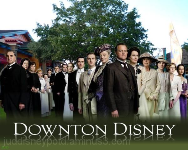 Jud, Disney, Downtown Disney, Downton Abbey