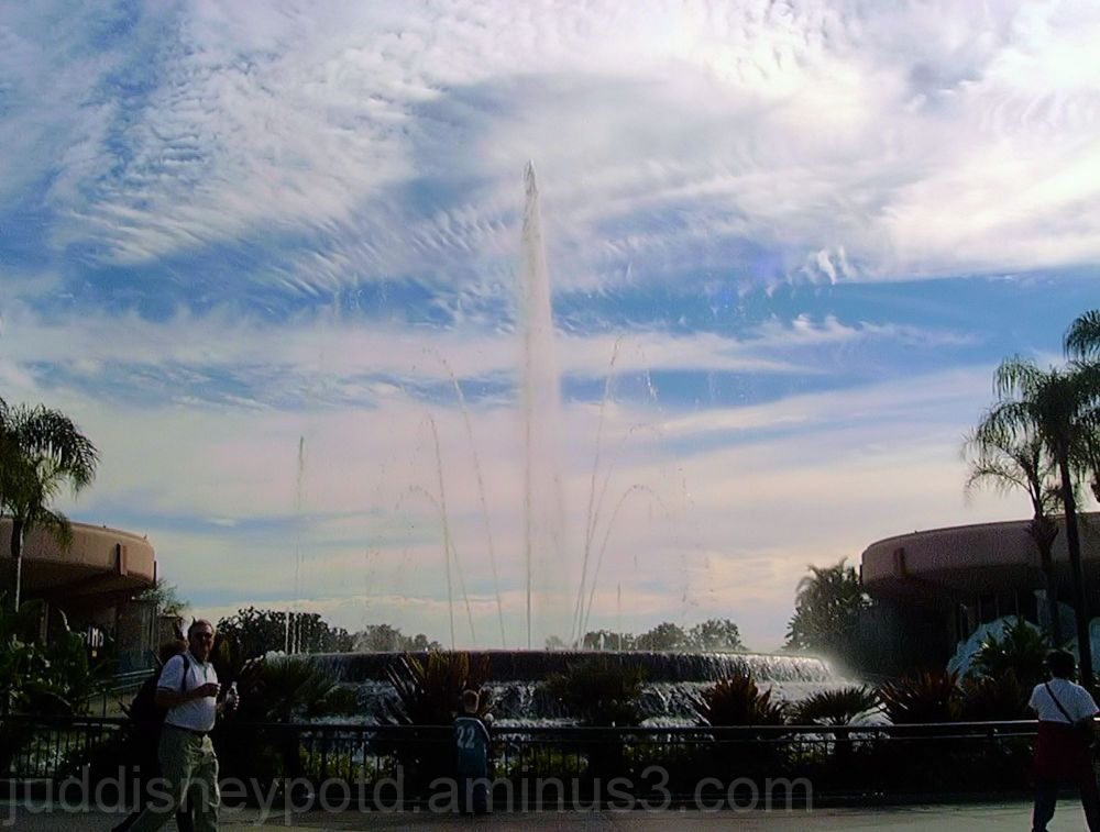 Jud, Disney, Epcot, Fountain of Nations