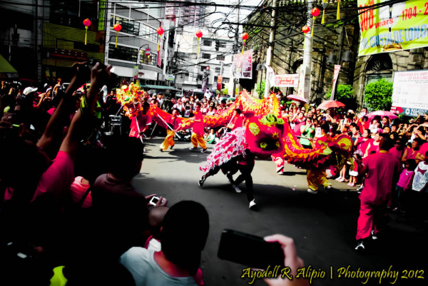 Chinese New Year, Dragon Dance 02