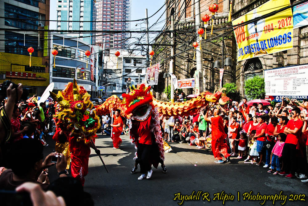 Chinese New Year, Dragon Dance 03