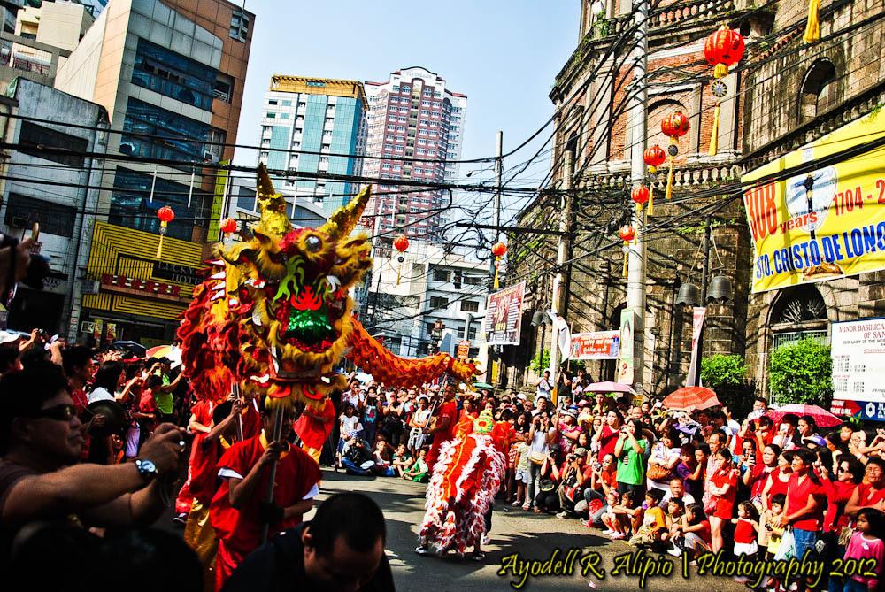 Chinese New Year, Dragon Dance 04