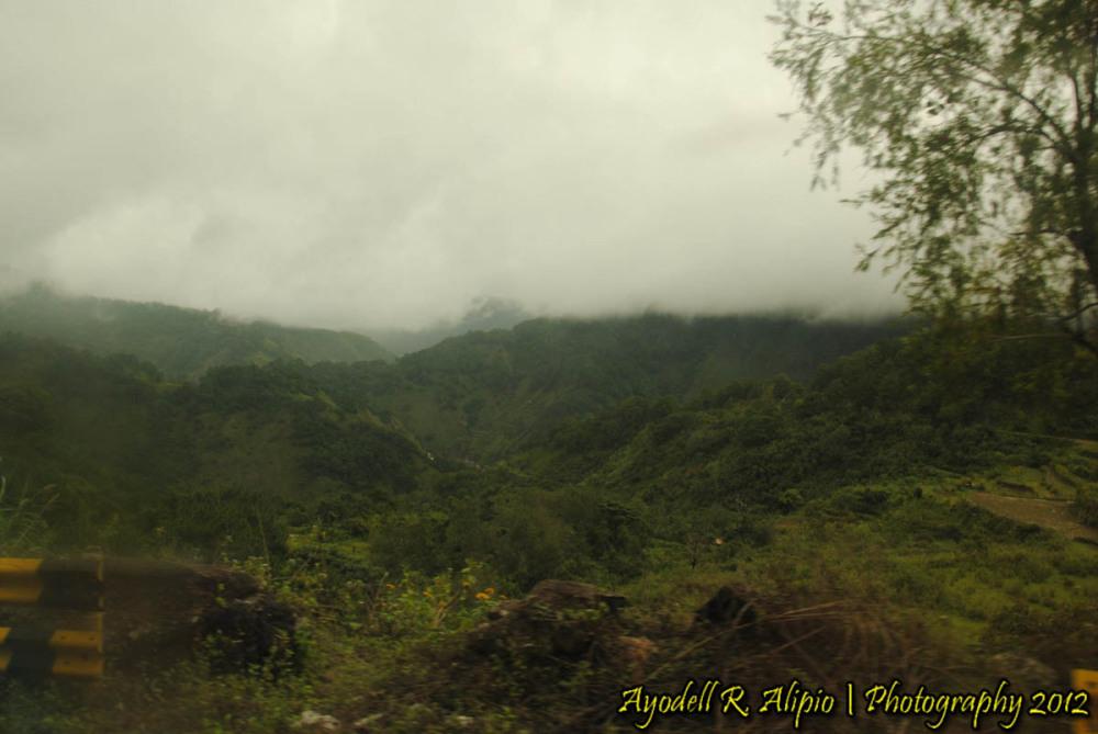 Road to Sagada (Mountainous Road 1)
