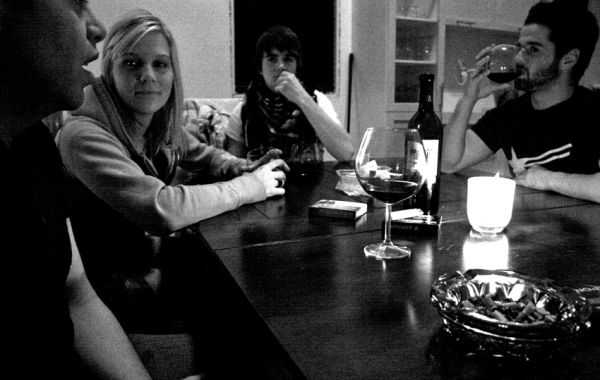 Quand le vin est bon...