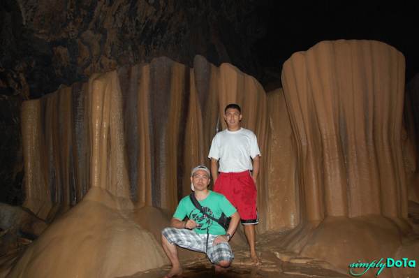 Inside the Sagada Cave