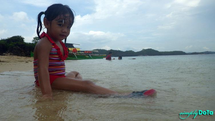 Enjoying the Swim