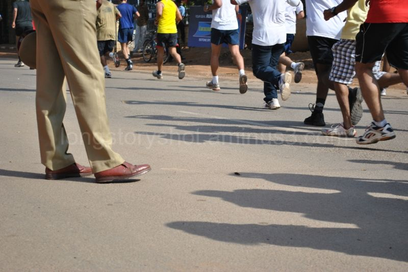 The Cop and The Runners.