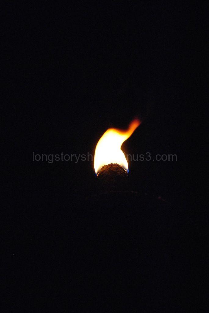 Fire by night.