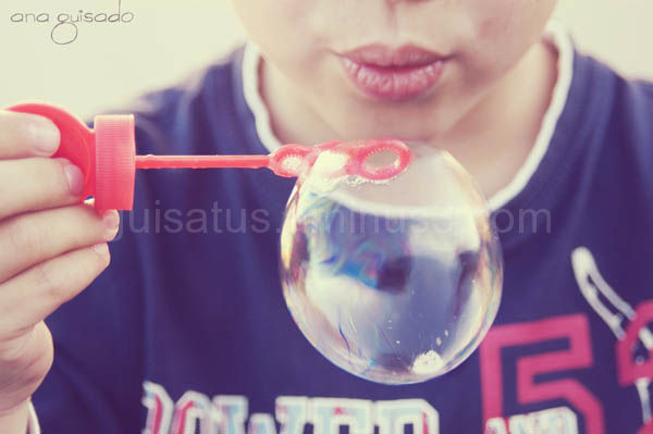 Growing bubble