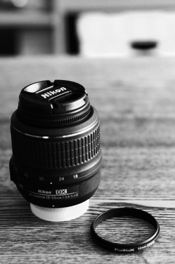 Nikon 18-55mm kit lens