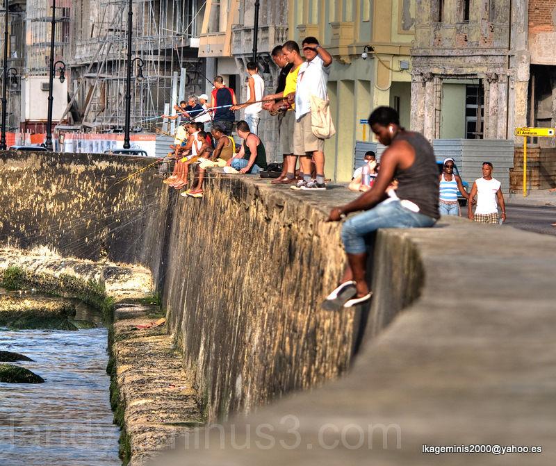 Pescadores. Hanaba. Cuba