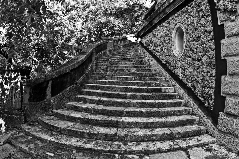escalera antigua...