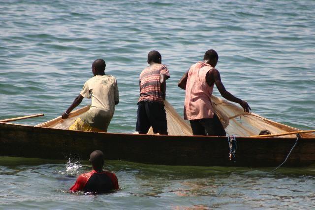 Fishermen on Tanganyika