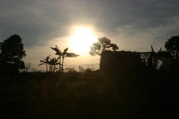 Sunset in Burundi