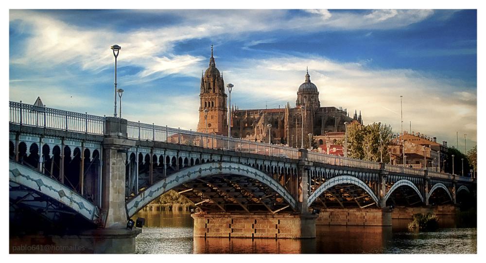 The river of my life  II, ( Rio Tormes ,Salamanca)