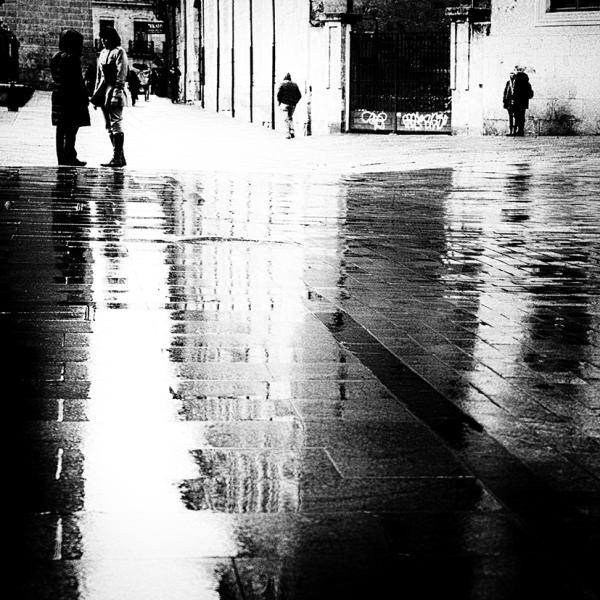 wet streets