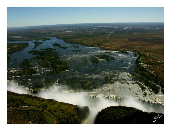 Site  remarquable (IV) - Victoria Falls