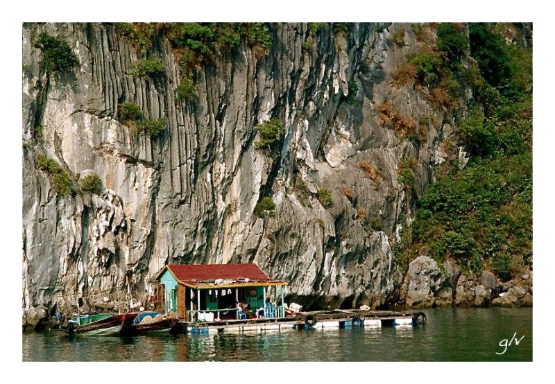 L'eau, lieu de vie (I) - Baie d'Halong