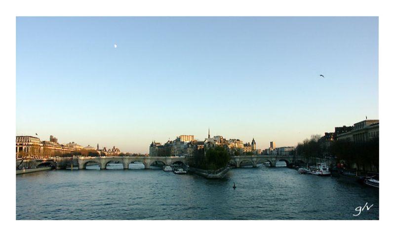 Un fleuve, une ville (I) - La Seine à Paris