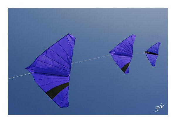 Un monde en couleurs - Bleu III
