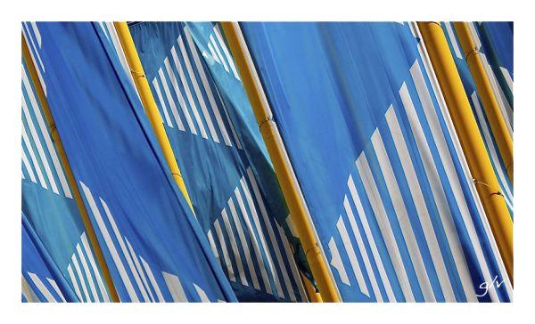Un monde en couleurs - Bleu & Jaune II