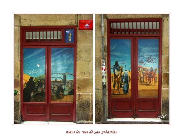 A la porte - At the door (III)