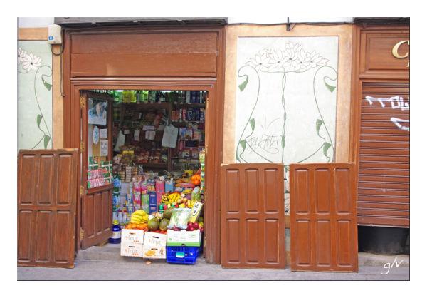 A la porte - At the door (XXII)