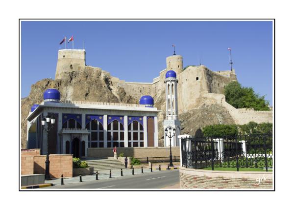 Fort omanais - Omani fortress (01)