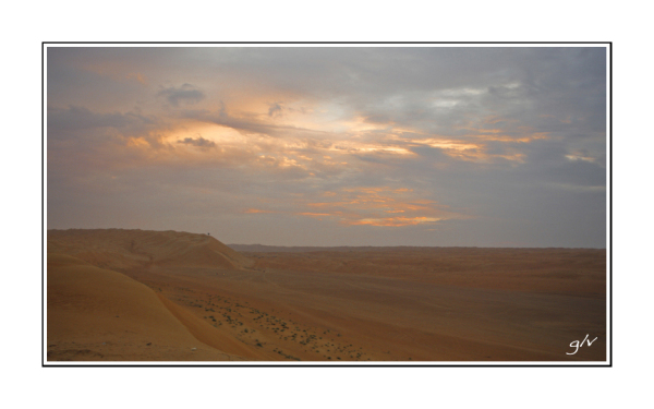 Dans le désert (V)