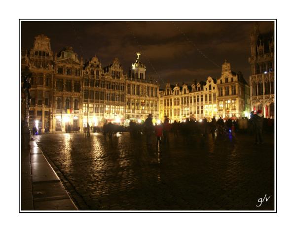 La Grand-Place by night  - 3/3